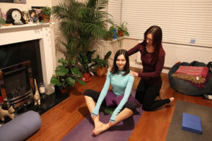Private 1-1 yoga session in London